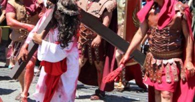 5 VIACRUCIS VIVIENTES EN SAHUAYO