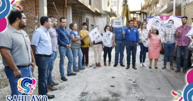 LLEVAR SATISFACTORES A LOS SAHUAYENSES NUESTRA TAREA: JESUS GOMEZ GOMEZ