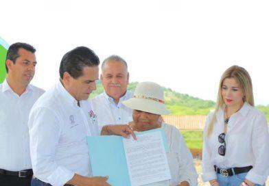 El Chihuero, una obra que cambiará la vida a Huetamo: Silvano Aureoles