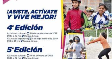 20 y 21 de Septiembre se realizará una nueva edición del programa Vía Activa