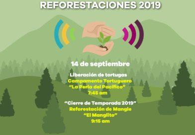 Gobierno de Michoacán cierra Temporada Estatal de Reforestaciones, en la Costa Michoacana
