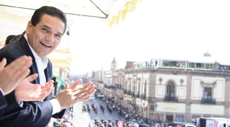 Con magna fiesta deportiva celebra Michoacán 109 aniversario de la Revolución Mexicana