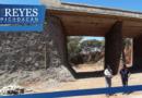 Más del 80 por ciento de avance, registra la reconstrucción del puente hacia Atapan