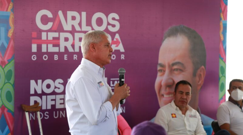 RODRIGO SANCHEZ ZEPEDA Y CARLOS HERRERA SE REUNEN CON EMPRESARIOS DE SAHUAYO