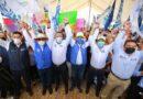 """Convoca Marko Cortés a tlaxcaltecas a cerrar filas y dar el """"último jalón"""" para que el 6 de junio tengan autoridades y diputados locales y federales que ayuden a resolver sus necesidades"""