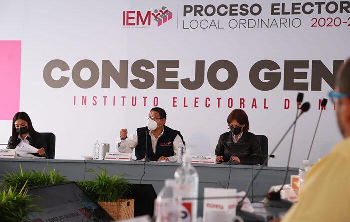 Asigna el IEM diputaciones de representación proporcional para el Congreso local de Michoacán